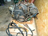 yanmar diesel donkey engine motor inboard and gearbox boat yacht spares or repair