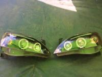 Corsa c angle lights