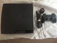 Slim Ps3 160 Gig HDD with 40 ish installed Psn games and lots of DLC For CODS
