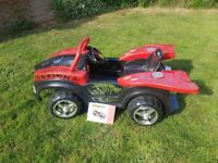 Scorpion electric ride on kids car from age 36 months upwards. Comes with manual