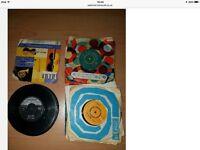 36. 7inch vinyl records
