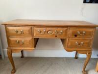 SOLD - Pine dressing table /desk
