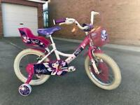 Girls Raleigh Molly bike