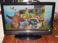 19'' Widscreen HD Ready Digital LCD TV with Freeview and DVD Player