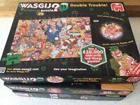 Christmas Wasgij puzzles