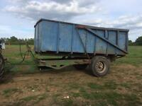Agriculture tipping trailer