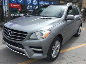 2012 Mercedes-Benz M-Class ML350 BlueTEC**NAVI**PANORAMIC ROOF**