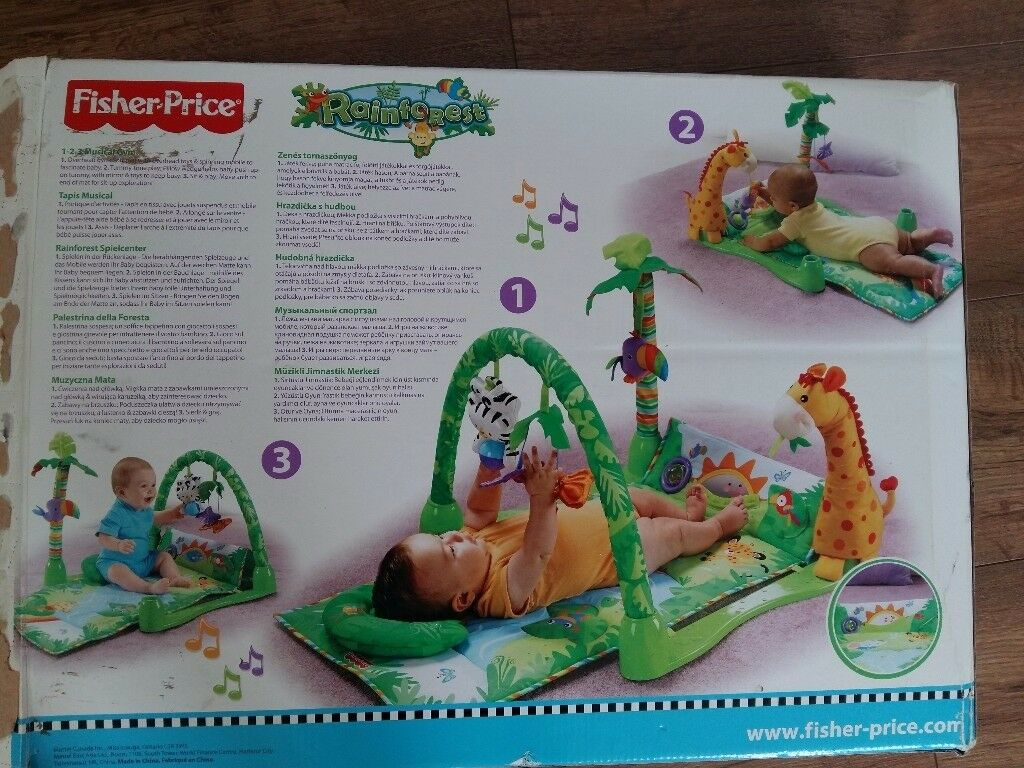 Fisher price activity&play mat