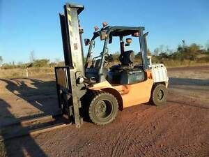 Toyota Diesel Forklift 3.5 Tonne Broughton Charters Towers Area Preview