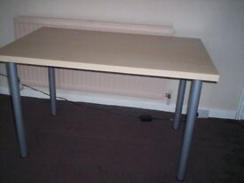 Used Ikea-bought desk/table for sale - in good, clean condition