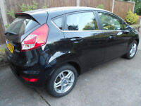 Ford Fiesta Zetec, Black, Auto, Low mileage, MOT May 2019, 2 Owners, HPI Clear.