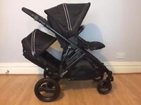 Britax b-dual double tandem pushchair