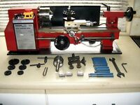 SM3002 Lathe with accessories