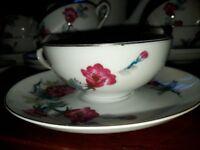 Meikei Vintage China Tea Set for 8