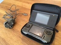 Nintendo DS Lite, 8 Classic games and 30+ games on cheat cartridge, includes Mario Kart and others