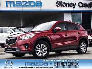 2015 Mazda CX-5 GS Sky SUN, 1 OWNER, ACCID FREE, FACTORY WARR!
