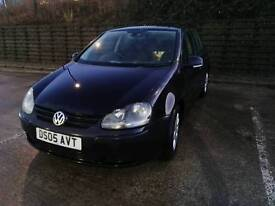 2005 Volkswagen Golf mk5 1.9 TDI 105bhp with low mileage