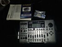 BOSS BR900CD With 2 Memory Cards Instruction Manual And Sealed DVD Plus All Cables etc