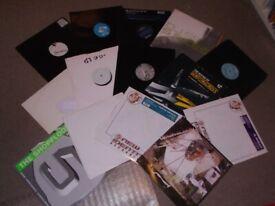"15 x 12"" Drum & Bass Vinyl Record Collection 1990's JOBLOT...DJ SS"