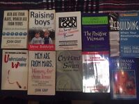 Variety of Therapeutic Books
