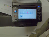 Ricoh A3 A4 colour duplexing laser printer with very very low page count of only 26K in total!