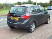 PART EXCHANGE AVAILABLE 2011 Vauxhall Meriva 1.4 i MOT 12 month Low miles only 56605 good car