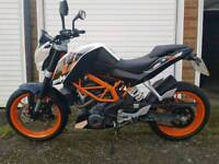 KTM DUKE 390cc 2013 | LOW MILAGE | GARAGED | MOT UNTIL END OCTOBER