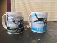 Bullzini family mugs