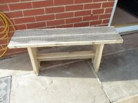 handmade garden bench (sheffield)