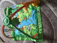 Fisherprice rainforest play mat/gym