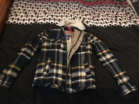 Superdry Mustang Branded Lumberjack Size Medium Western Shirt Co.