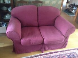 2 Seater Sofa, with removable covers.