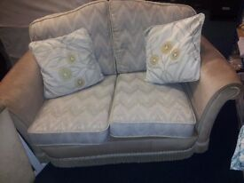 2 seater sofa with matching chair