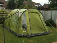 Tent Vango Iris 500 tent and footprint sleeps five people