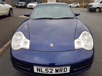 2002 PORSCHE 911 TARGA TOP 3.6 996 MANUAL