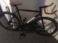 Single speed 54cm top tube men's bike excellent condition