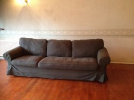 Large Four Seater Sofa.
