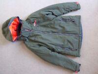 Khaki ski jacket, Nevica size 10