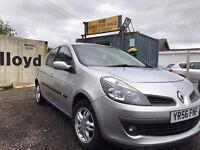 All major credit debit cards accepted - Renault Clio 1.4 16v Dynamique 5dr 89,435 miles