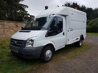 Ford Transit 350 Box Van – Low Miles, Mobile Workshop, Ideal Camper Conversion