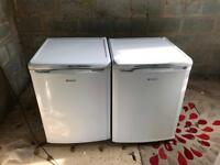 Almost new Hotpoint fridge and freezer