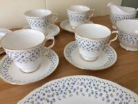Queen Anne bone china Tea set