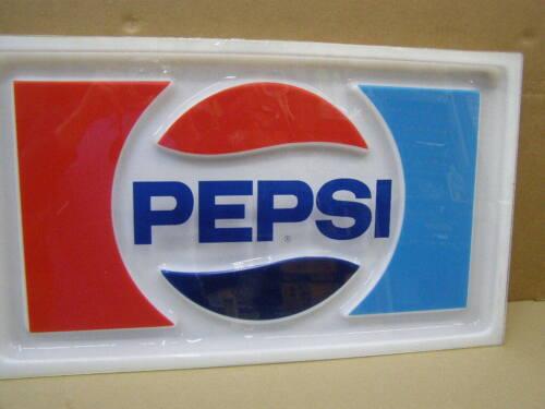Vintage Pepsi machine vendor sign face parts nice