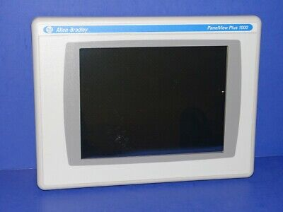 Allen Bradley Panelview Plus 1500 2711p-rdt10c B Display Only Exact Unit