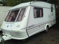 Elddis gulfstream 1996 2 berth in mint condition with awning