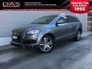 2011 Audi Q7 3.0T PREMIUM 7 PASS/PANORAMIC SUNROOF/LEATHER