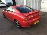 Automatic Hyundai Coupe—MOTD,service history,ac,cd,alloys,excellent runner,leather interior,clean.