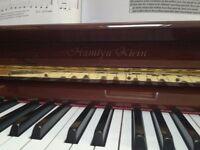Beautiful piano hamlyn klein