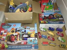 Chuggington Interactive Railway 3 sets & 10 trains talk to each other