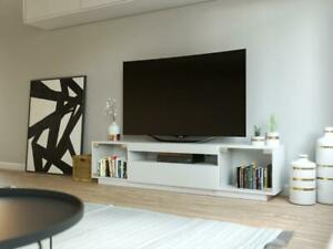 NEW! SAMSO Modern TV Cabinet for TVs up to 85 by LOFT Design Company - Free Shipping! Only $472 for limited time only